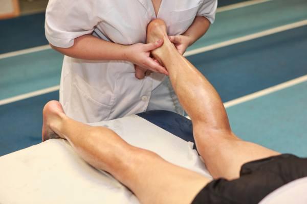 массаж ахиллесова сухожилия