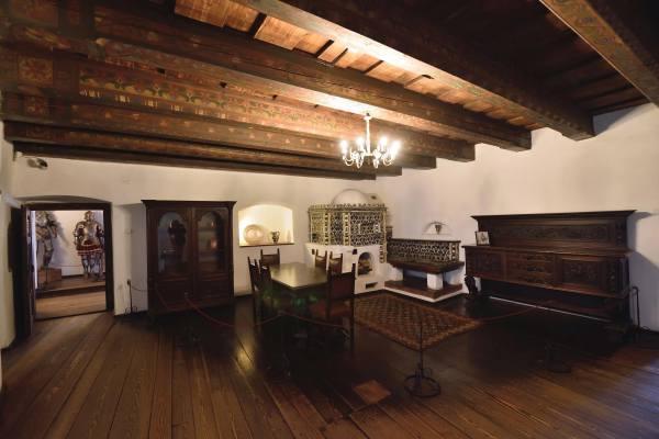 помещение к замке Цепеша (Дракулы) в Румынии