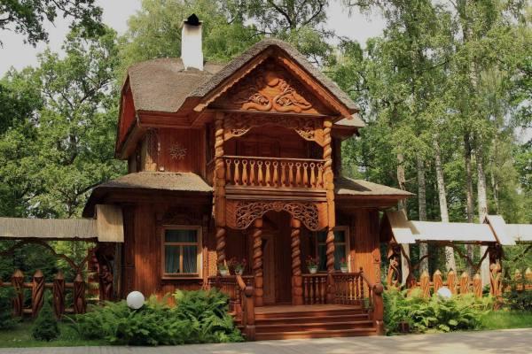 дом Деда Мороза Беловежская пуща