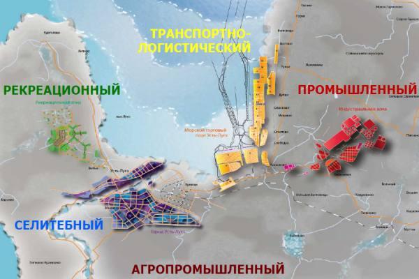 портовый комплекс Усть-Луга