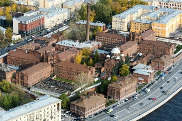 исторические Кресты СИЗО Петербург