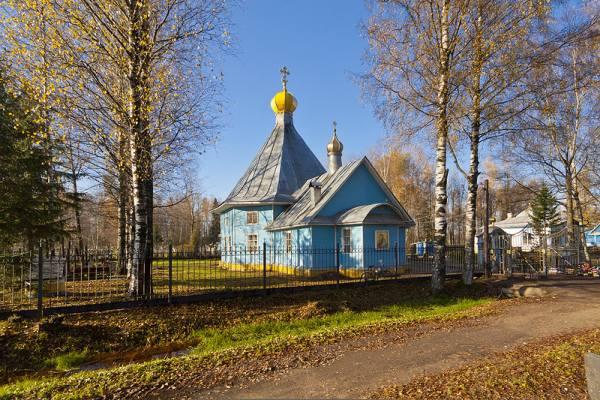 церковь Казанской Божьей Матери в г Тосно ЛО