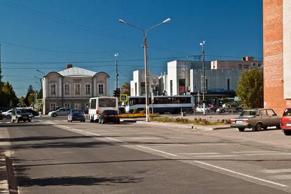 улица в Тосно