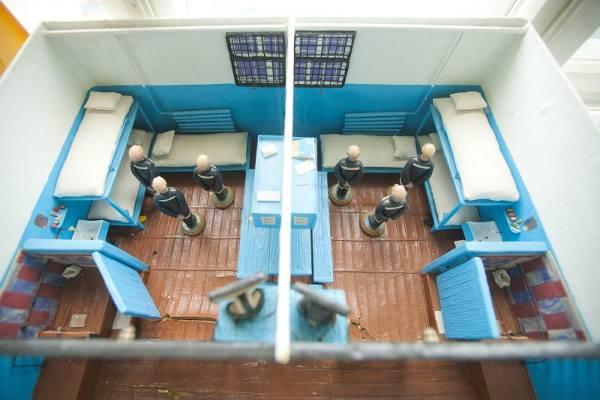 схема тюремной камеры в Белом лебеде